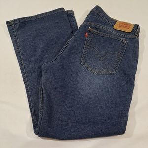 LEVI'S JEANS BOOT CUT STRETCH 515 SIZE 14